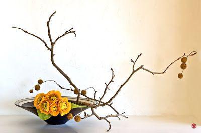 Le Blog Zen-Images Ikebana: Ikebana Blues Cures d'hiver