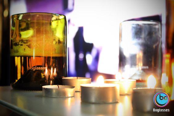 Festa di luce festa di calore festa di allegria. E' sempre il momento di brindisi con #boglasses e il suo #vetro #riciclato. Pure #italianstyle!