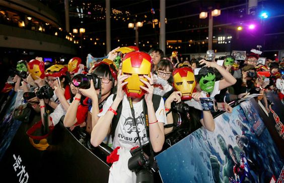 "(china.org) One of the most anticipated films of the year, ""Avengers: Age of Ultron,"" premiered in Beijing on Sunday with thousands of fans waiting in line to see Iron Man and the Hulk. http://www.chinaentertainmentnews.com/2015/04/avengers-2-premieres-in-beijing.html"
