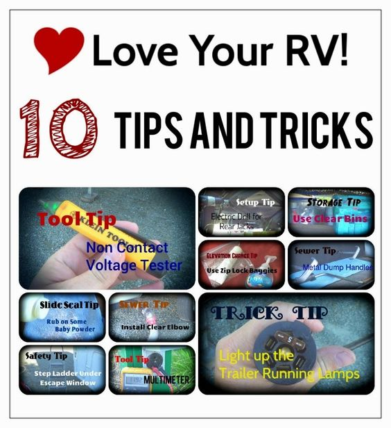 Unique Ten Helpful RVing Tips And Tricks  The O39jays Tips And