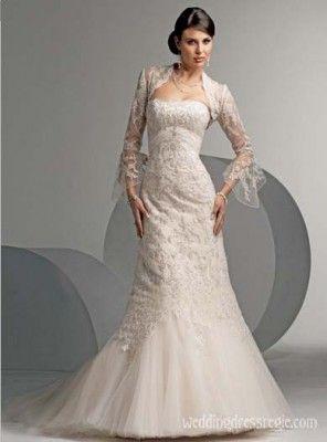 Mermaid Bridal Gown Sweetheart Organza Wedding Dresses MRY1336 $279