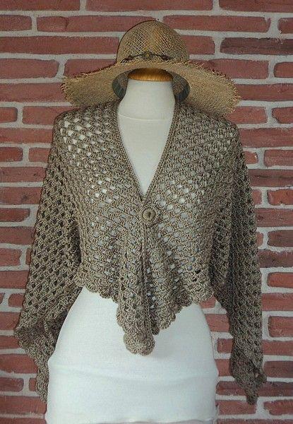 Gilet duo magique half granny crochet facile r aliser tuto gratuit crochet tops pulls - Tuto tricot debutant gratuit ...