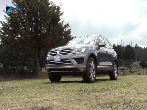 Volkswagen Touareg 2015 a prueba