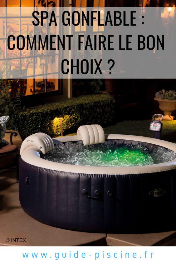 Achat Spa Gonflable Comment Bien Le Choisir Guide Piscine Fr Spa Gonflable Gonflable Jacuzzi Gonflable