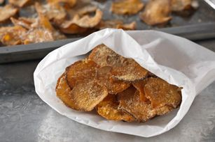 Got a craving for potato chips?  Our Un-Fried Sweet Potato Chips should satisfy that craving - it's a simple recipe for two that's better-for-you!