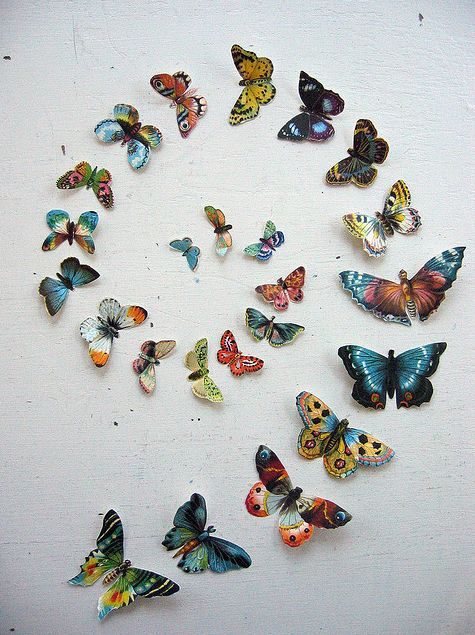 butterfly decoupage
