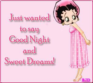 Betty boop good nite | Betty Boop Good Night
