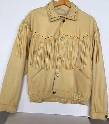 ONE OF A KIND Men's Western Leather Jacket with Fringe https://t.co/Qnmn3s6cy6 https://t.co/WLAzuNxRni