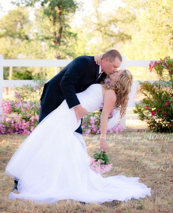 Wedding pose