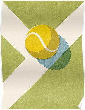 Pin On Tennis Art