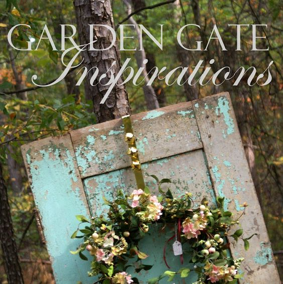 A Little Loveliness: Through the Garden Gate