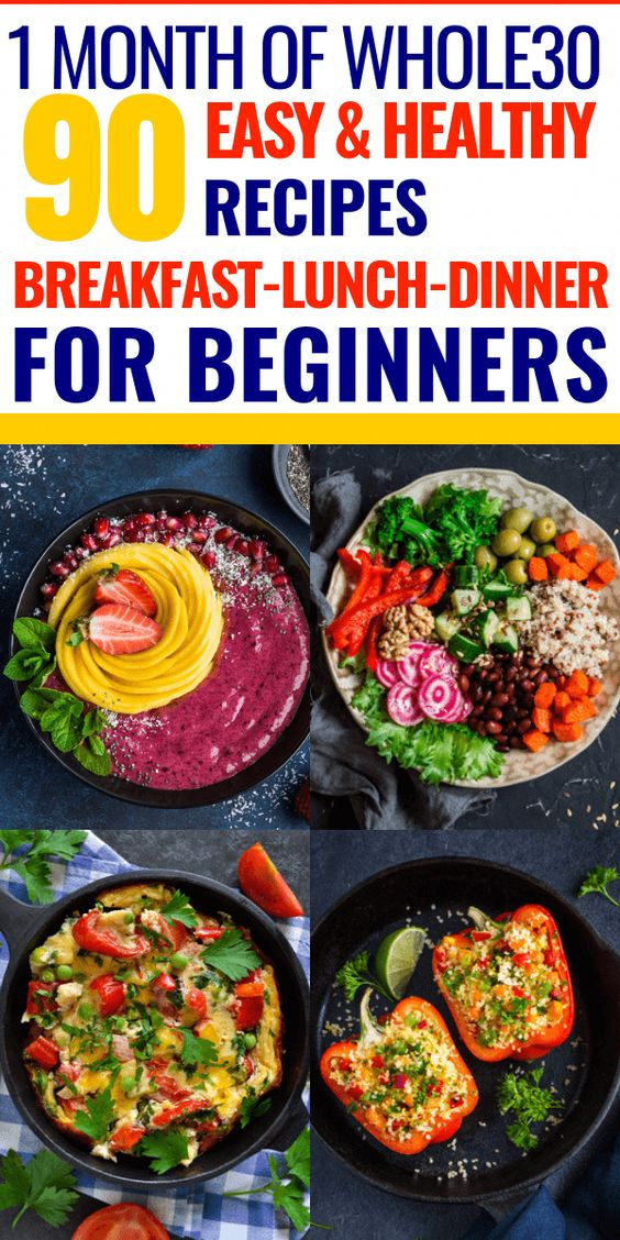 Whole30 Meal Plan For Healthy Weight Loss | 90 Whole30 Recipes