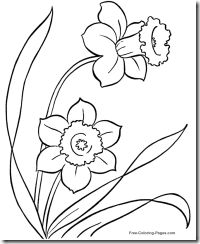 flower-coloring-pages - Copy