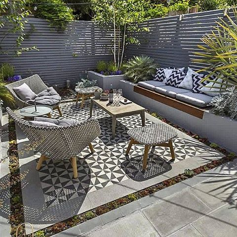 Perfect Modern Patio