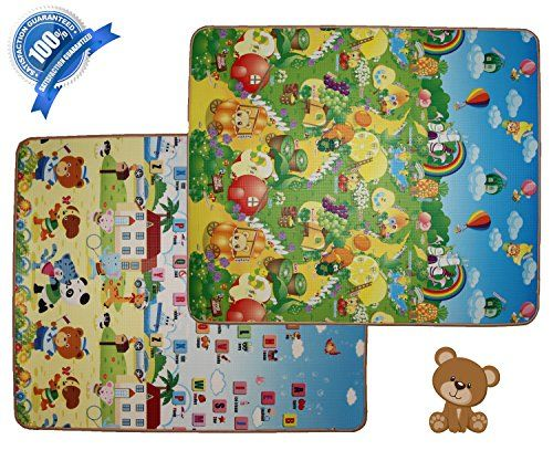 Cell Glove Kid Play Mat Foam Floor Gym Nontoxic Nonslip Reversible Waterproof Large Safe And Fun Check Out Kids Playmat Kids Play Mats Foam Foam Flooring