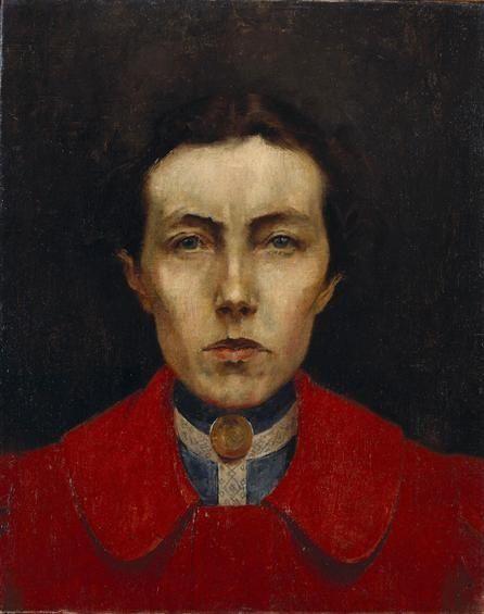 Aurélia de Sousa : Autorretrato, 1900