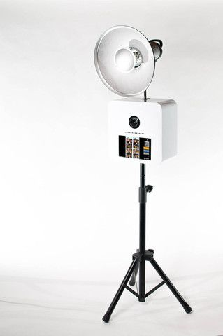 how to make a portable photo booth