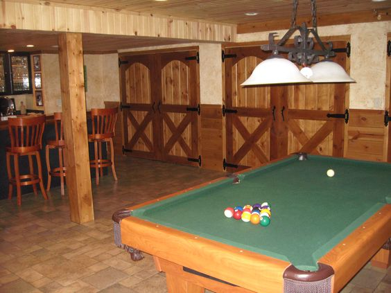 Basement Storage Doors ~ Barn Style