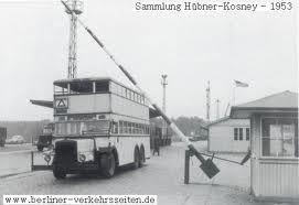 Bus der Linie Wannsee-Stahnsdorf 1953
