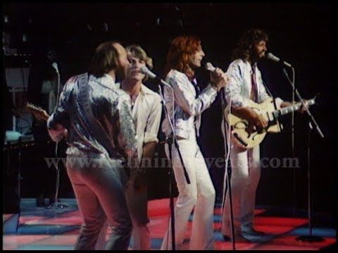 The Bee Gees With Andy Gibb You Should Be Dancing Live 1979