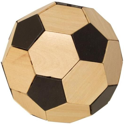 Puzzle-Fußball Holzpuzzle