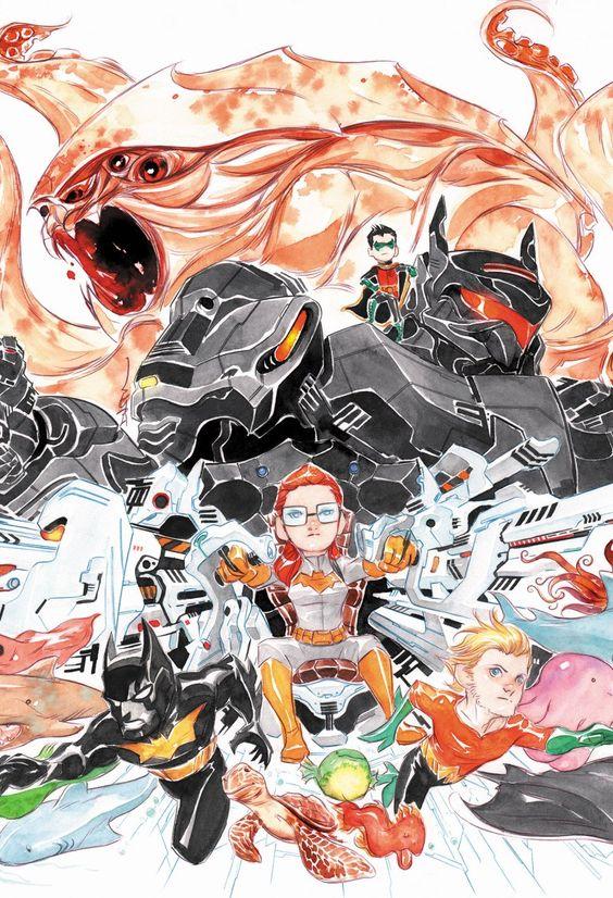 Batman: Li'l Gotham 7 by Dustin Nguyen
