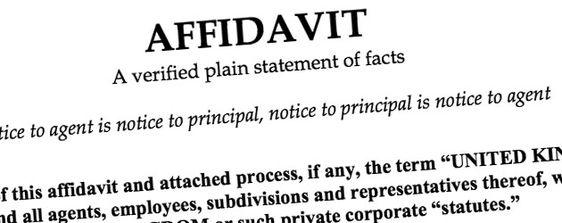Legal Awareness (Law Updates) AFFIDAVIT AND ITS DEFINATIONS - affidavit statement of facts