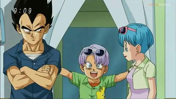 Vegeta and his family :):