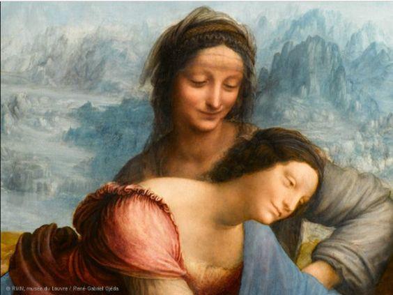 Después de una restauración de casi dos años que provocó dos sonadas dimisiones, el Museo del Louvre abre mañana una exposición impresionante, que dura hasta el 25 de junio y arropa a la nueva Virgen con el niño y Santa Ana