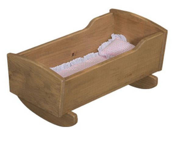 Doll cradle it is toys and the o 39 jays Wooden baby doll furniture