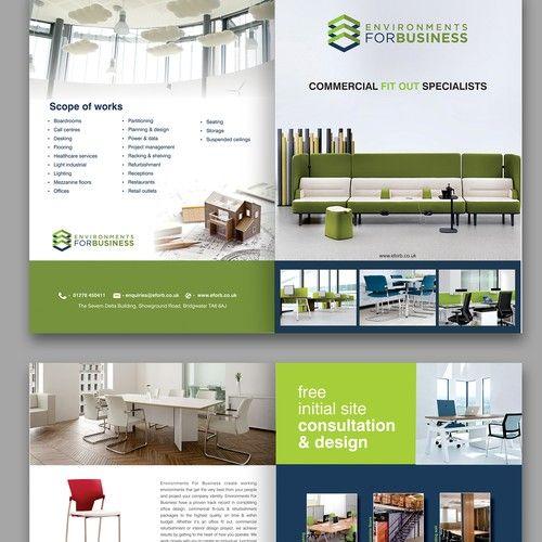 Design A Mailer For A Commercial Interior Design Company Postcard