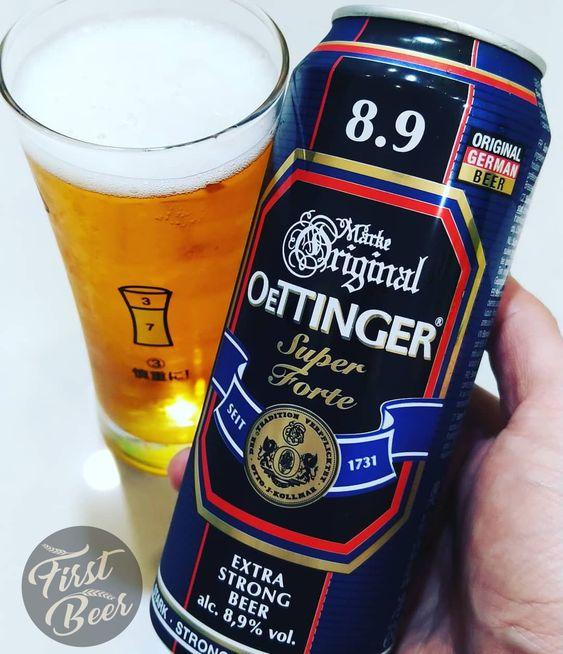 bia oettinger nặng 8.9%
