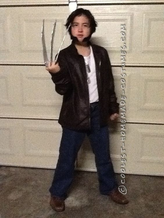 coolest kids wolverine costume coolest halloween costume contest - Coolest Kids Halloween Costumes