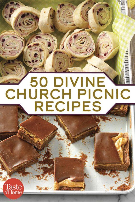 50 Church Picnic Recipes You'll Love