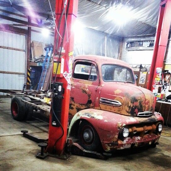 Build A Truck Ford: My 1952 Ford Coe Cabover I'm In The Process Of Building