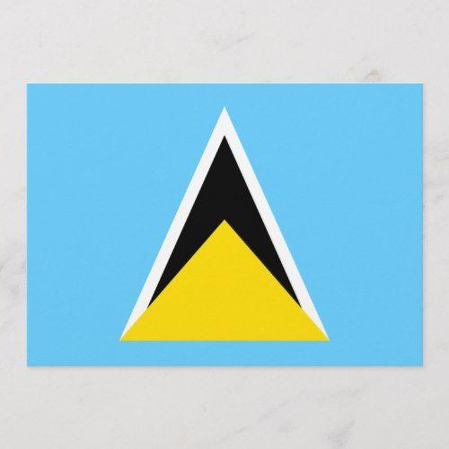Saint Lucia Zazzle Com St Lucia Flag St Lucia Lucia