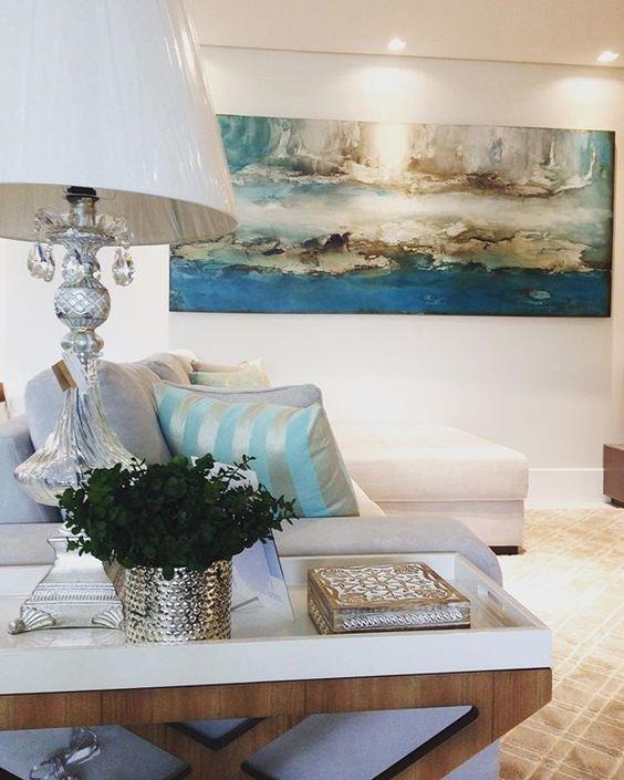 Apaixonada por esse telaa  #decortime #decoração #interiores #interiordesign…