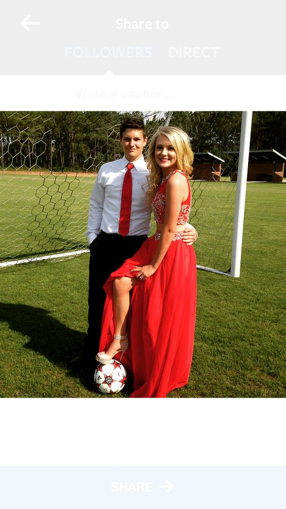 """Prom/Soccer<!-- Please call pinit.js only once per page --> <script type=""""text/javascript"""" async defer data-pin-color=""""red"""" data-pin-height=""""28"""" data-pin-hover=""""true"""" src=""""//assets.pinterest.com/js/pinit.js""""></script>prom"""