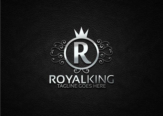 Royal King Logo King Logo Royal King Custom Logo Design