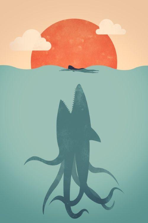 sharktopus vs dinocroc - Google Search   Khai: Wish list ...