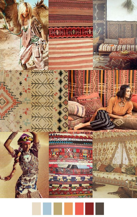 Das Design der Möbel findet sich auch im Teppich wieder
