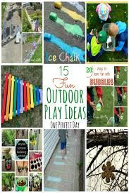 kids outdoor play area ideas - Google Search
