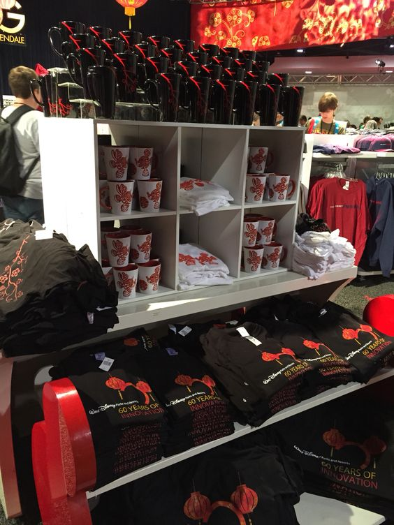 Exclusive Shanghai Disney merchandise found at Mickeys of Glendale store at #D23Expo2015 Www.extendedqueue.com