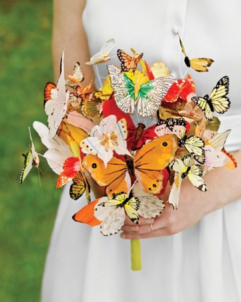 Diy Butterfly Bouquet Diy Wedding Bouquet Flower Bouquet
