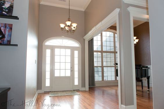 Foyer Paint Colors Sherwin Williams : Foyer stone lion sherwin williams paint colors
