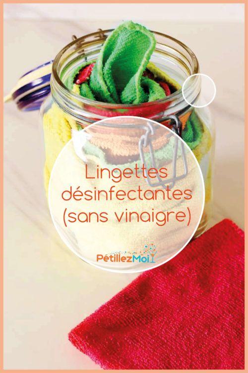 Lingettes Desinfectantes Maison Sans Vinaigre Blanc