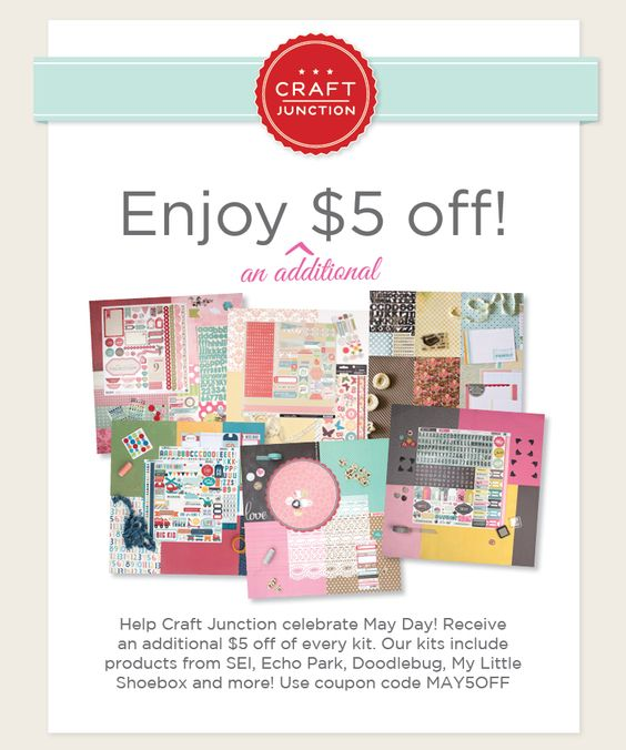 Happy May Day! Let's celebrate with $5 off each kit!
