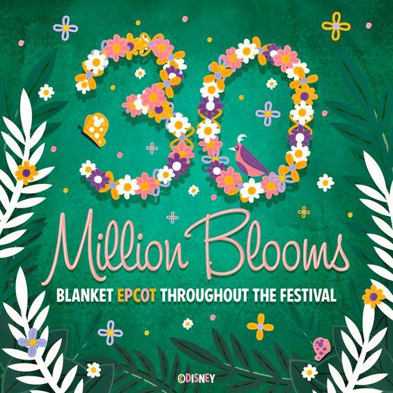 30 Million Blooms Blanket the Epcot International Flower and Garden Festival. http://di.sn/i9d