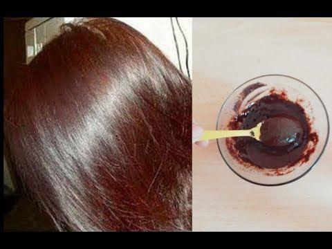 اصبغي شعرك للعيد لون بني بمكونات طبيعية بدون حناء ولا اكسجين وبدون شيب والنتيجة مذهلة ومجربة Youtube Diy Hair Treatment Hair Butters Hair Growth Spray