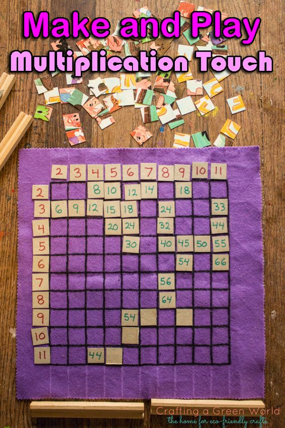 Cool Math Games Multiplication Touch! Make it from